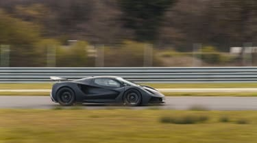 Lotus Evija testing – side