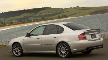 MY05 Subaru Legacy Tuned by STI
