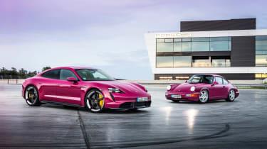 2022 Porsche Taycan – Rubystone