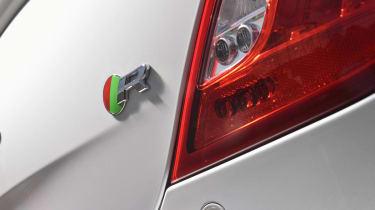 Jaguar XJR boot badge