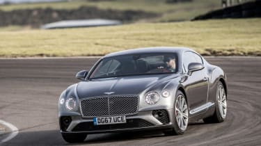 Continental GT - turn in