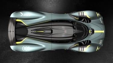 Aston Martin Valkyrie AMR - top