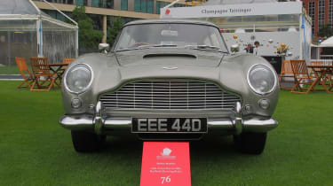 City Concours - front Aston DB5