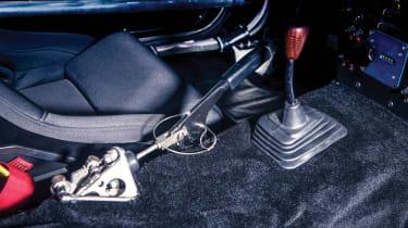 Mazda RX-7 Evo Group B Works - interior gears