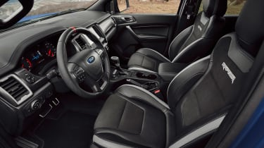 2019 Ford Raptor - interior