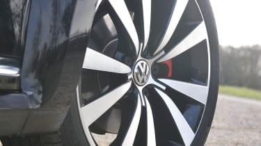2013 Volkswagen Beetle Turbo Silver Tornado alloy wheel