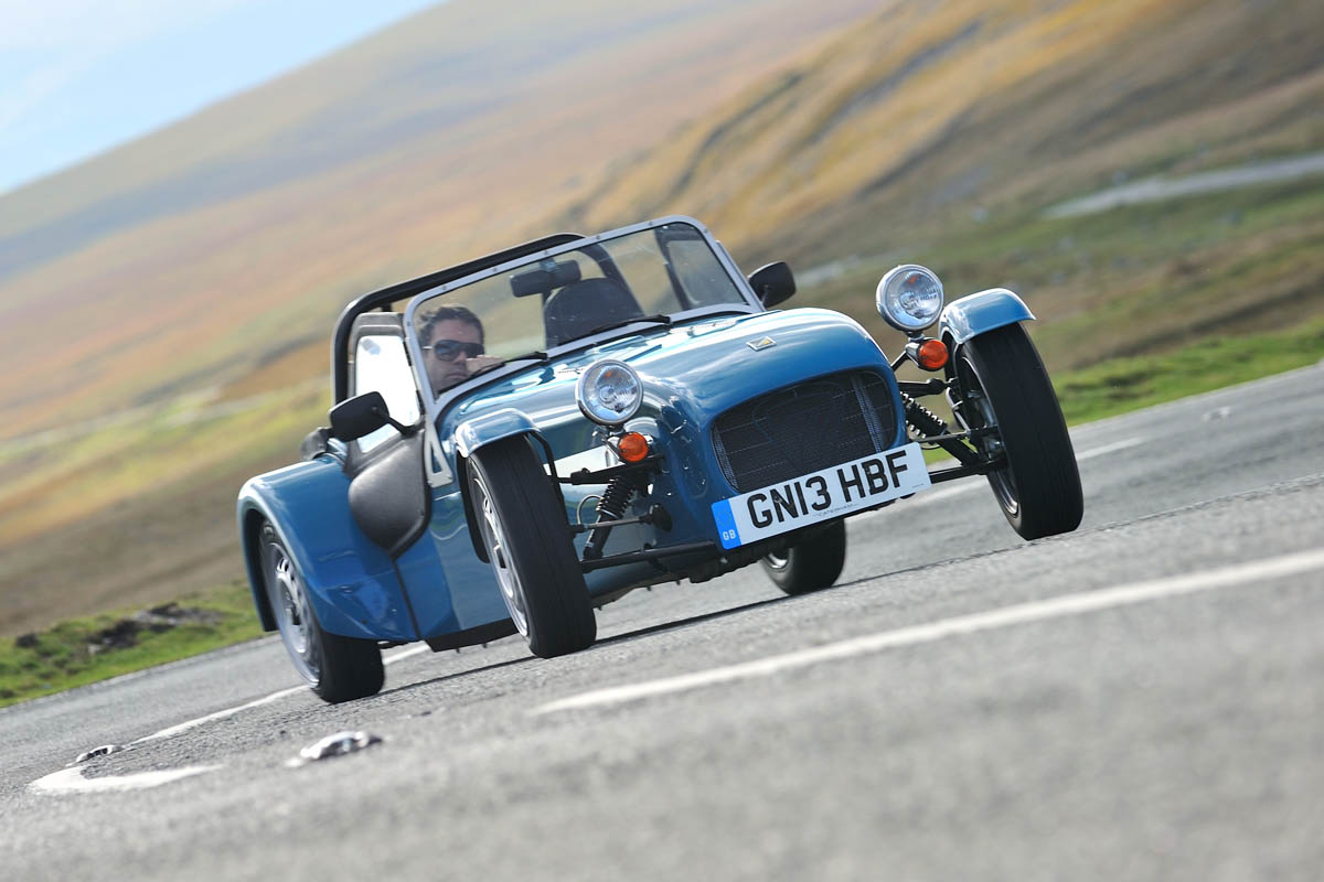 Caterham Seven 160 Review Price And Specs Evo