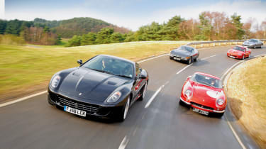 Ferrari 599 Gtb Vs 275 Gtb Daytona 550 Maranello And 575m