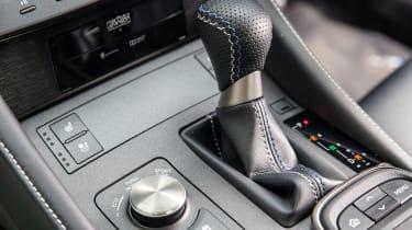 Lexus RC F - Centre console