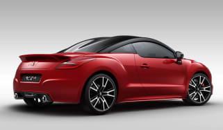 Peugeot RCZ R red rear