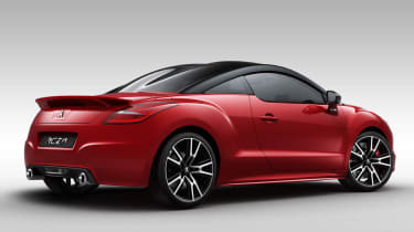 Peugeot RCZ R red rear