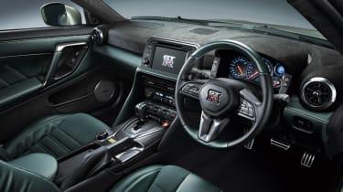 MY22 Nissan GT-R T-spec – interior