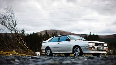 4x4 Wales test - Quattro