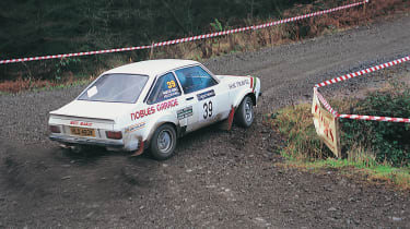 Competitors in the Grizedale Stages Rally