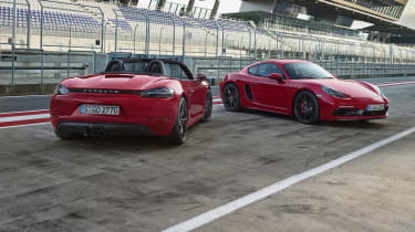 718 Boxster and Cayman GTS -