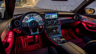 Mercedes-AMG C43 2018 facelift - interior