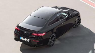 Mercedes-AMG E53 coupe – rear quarter top