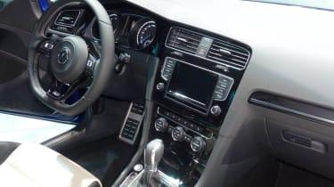 VW Golf R mk7 interior dashboard