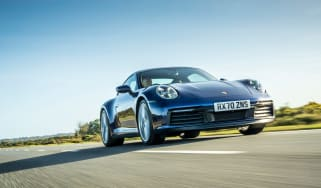 Porsche 911 Carrera S manual blue -