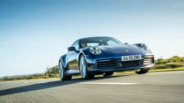 Porsche 911 Carrera S manual blue -