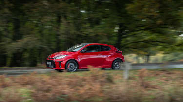 2020 Toyota GR Yaris Red - side 1