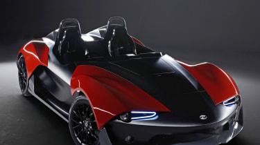 Zenos E10 red and black