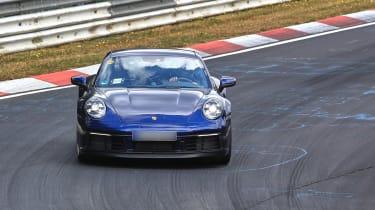 992 Porsche 911 prototype - blue