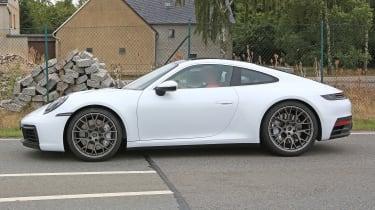 992 Porsche 911 spied - side