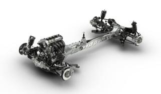 Mazda MX-5 Skyactiv chassis and engine
