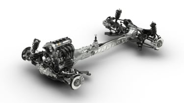 Mazda MX-5 Skyactiv chassis and engine