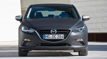Mazda Skyactive X prototype - front
