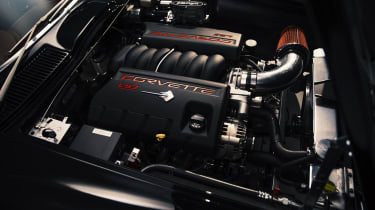 Ares Corvette Stingray - engine