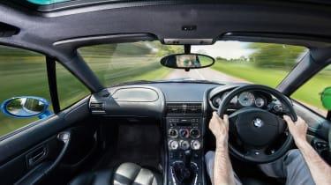 BMW M Coupe interior