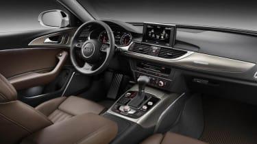 New Audi A6 Allroad interior