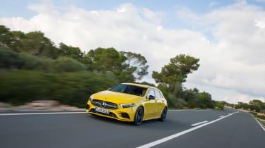 Mercedes-AMG A35 - front quarter