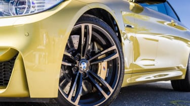 BMW M4 alloy wheel