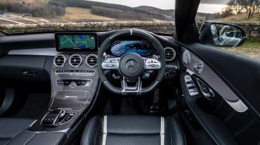 Mercedes-AMG C63 S Estate 2021 – cabin