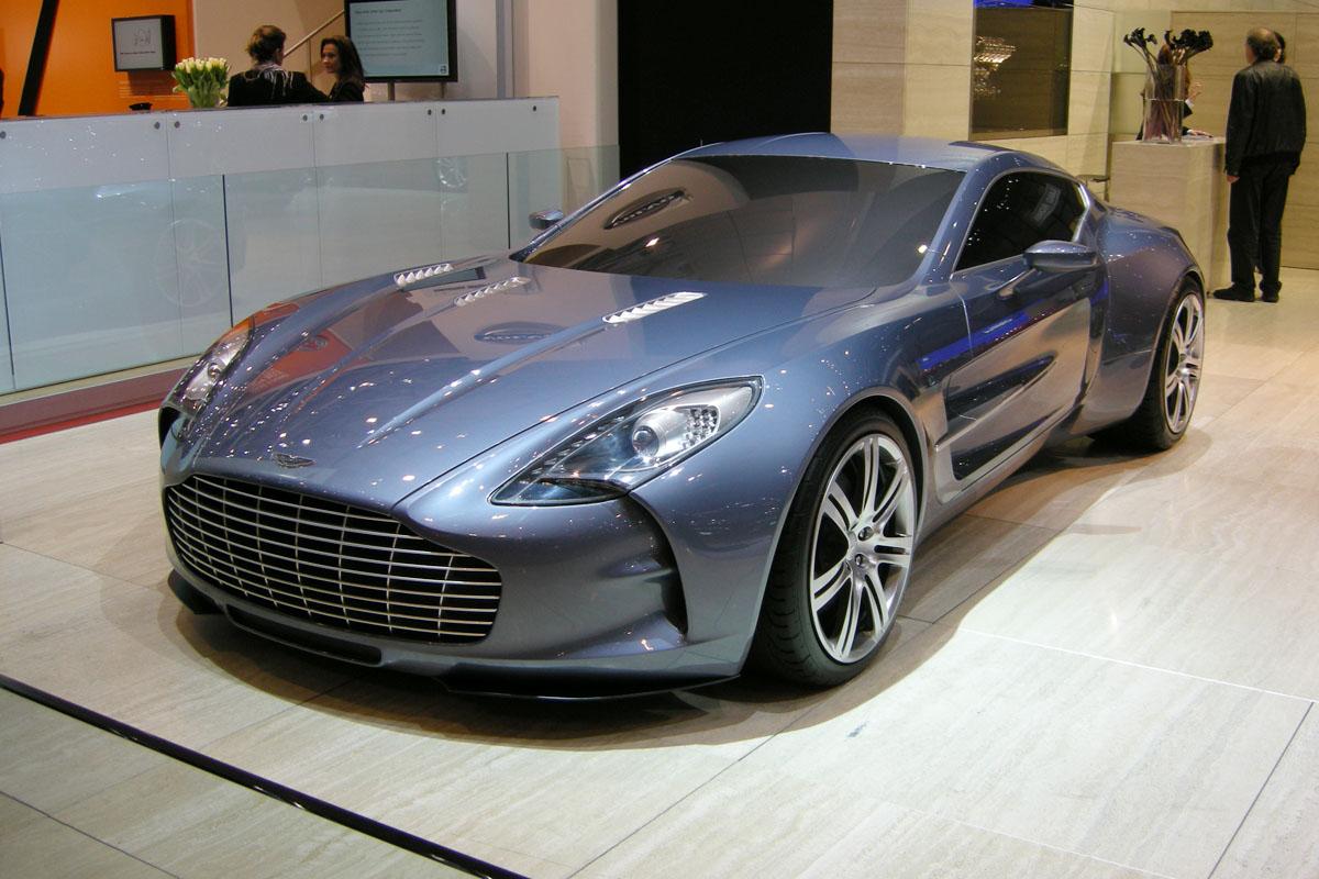 Aston Martin One 77 Evo