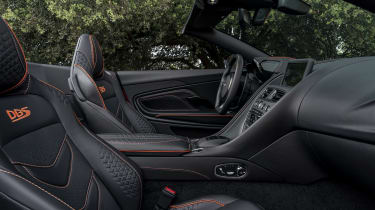 Aston Martin DBS Superleggera Volante seats