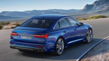 Audi S6 saloon - rear quarter