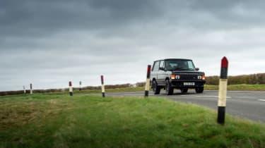Bishops Heritage Range Rover – front cornering
