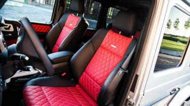 Mercedes G63 AMG tuned by Edo Competition seats