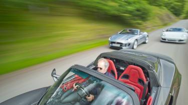 Lotus Exige S Roadster roof off