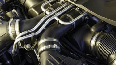 BMW M5 V8 engine