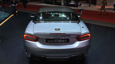 Abarth 124 Spider GT – rear