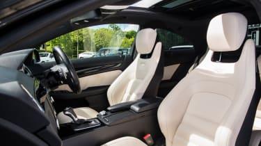 Mercedes-Benz C63 AMG Coupe – interior