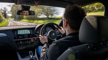 BMW X4 xDrive30d - Interior