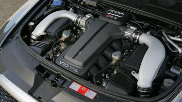Audi RS6 engine