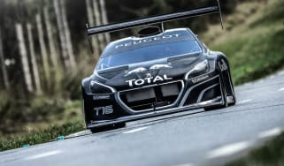 Peugeot 208 T16 Pikes Peak front view
