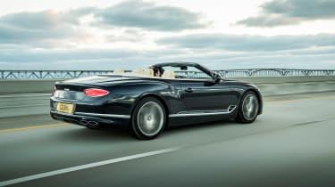 Bentley Continental GT Convertible V8 - rear quarter
